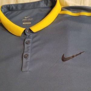 EUC Nike Dri-Fit Tennis Polo